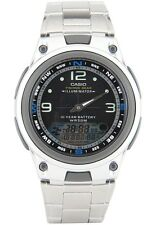 Casio AW82D-1AV Fishing Timer Moon Data Watch Steel Brand 10 Year Battery New