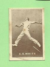 1937  GRIFFITHS  SWEETS CRICKET CARD - E. S. WHITE