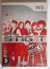 Disney sing it high school musical 3 senior year Wii game brand new & sealed!