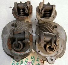 1949-50 AJS Matchless G9 500cc pair of earliest heads B