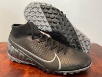 NIKE MERCURIAL SUPERFLY VII TF DF INDOOR SOCCER TURF SHOES AT7978-001 SIZE 6