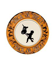 Bethany Lowe - Halloween -Trick Or Treat Salad Plate-LC5484