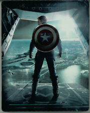 3D Steelbook CAPTAIN AMERICA The Winter Soldier The Return of the First Avenger