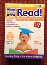 Your Baby Can Read Volume 2 Word Card Set/ DVD New