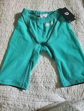 *New, Tags* Arena Powerskin ST 2.0 Jammer  Mint Green Size 26