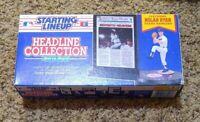 1992 Baseball Headliner Starting Lineup Nolan Ryan 7th No Hitter Rangers Sealed