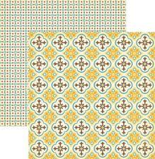 October Afternoon: 12x12 Farm Girl: Pickling Crock 2pc Scrapbook Paper