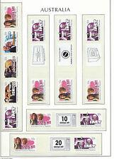 AUSTRALIA 2006 - SNP Sprint Roll - COMMONWEALTH GAMES + labels - Mint MNH
