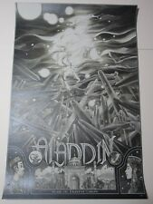 Aladdin and the Enchanted Lamp, Screen Print Pearlescent Var. by Nicolas Delort