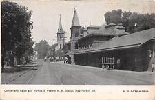 Hagerstown, MD PC pre-1907 Cumberland Valley, Norfolk & Western Railroad Station