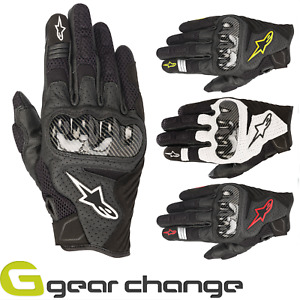 Alpinestars SMX-1 Air V2 Short Riding Motorcycle Motorbike Gloves