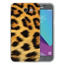 For Samsung Galaxy J3 Prime Classic Leopard TPU Gel Skin Phone Cover Case
