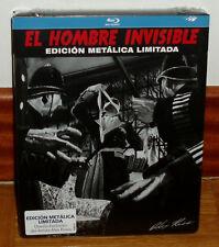 EL HOMBRE INVISIBLE EDICION LIMITADA STEELBOOK BLU-RAY NUEVO PRECINTADO TERROR