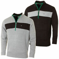 Acrylic Patternless Medium Knit Jumpers & Cardigans for Men
