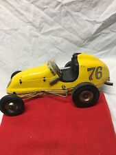 Early Vintage Gas Powered Ohlsson & Rice Tether Car # 76  Super Nice Original