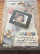 Digital photo album with alarm clock by Coby BRAND NEW NEVER OPENED