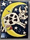 DEBORAH DURAN-GEIGER TILE THE COW JUMPED OVER THE MOON! EXC CONDITION