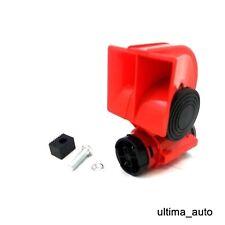 Partol Electric Pump Air Horn 12V 130DB Dual Tone Trumpet Super Loud Snail Air Siren Car Compact Air Horns with Automotive Relay for Car Truck Bike Motorcycle Boat ATV