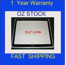 "NEW OEM Screen Glass cover for A1286 Apple Macbook Pro Unibody LCD 15.4"" sydney"