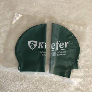 2 New Kiefer Swim Caps Green Latex