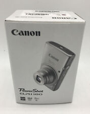 NEW Canon Red PowerShot ELPH 180 20.0 MP Digital SLR Camera 28 mm (AP)