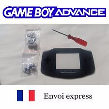 Coque GAME BOY ADVANCE noir black NEUF NEW + tournevis - étui shell case GBA