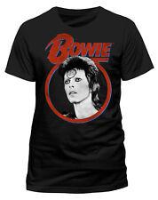 David Bowie' Ziggy Face 'T-Shirt - NEU UND OFFIZIELL
