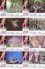 BARBARELLA (1968) U.S. Lobby Cards Complete Set of 8