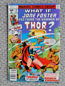 What If #10 1st app Jane Foster as Thor