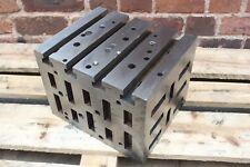 307mm x 254mm x 228mm Cast Iron CI Cube Drilling Milling CNC Tool (AP52)