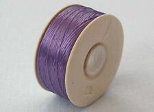 one spool of LILAC PURPLE nymo B beading thread - 72 yds (66m)