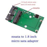 """Mini PCIe PCI-e MSATA SSD To 1.8"""" Micro SATA Adapter Converter Card PCBA new"""