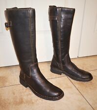 Women's Western Leather Born Boots Special Edition Tall Riding Boots Size 9