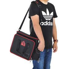 HOMCOM Heavy Duty Tool Bag Electrician bags Organizer Mechanic Storage Black
