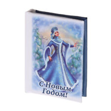 """Mini 2,5"""" Book Christmas New Year Russian Magnet Snow Maiden Schneewittchens 2"""