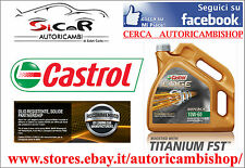 CASTROL EDGE TITANIUM FST™ 10W-60 SUPERCAR ORIGINALE, ADATTO X AUDI R8, BMW, VW