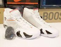 Supreme Nike Jordan Retro 14 XIV sz 12 White Red Black BV7630 106 5 DS Receipt