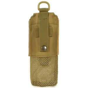 Water Bottles Pouch Foldable Mesh Drawstring Bottle Holder Carrier Outdoor
