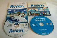 Wii Sports + Wii Sports Resort (Wii, 2006) Nintendo Sports Games