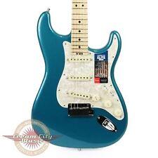 Brand New Fender American Elite Stratocaster Maple Board in Ocean Turquoise Demo