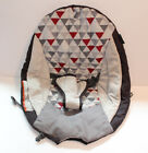 Baby Trend EZ  Bounce Bouncer Replacement Baby Seat Cover Red Grey Gray