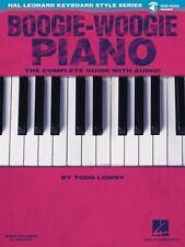 Boogie-Woogie Piano: Hal Leonard Keyboard Style Series, Lowry, Todd, Very Good B