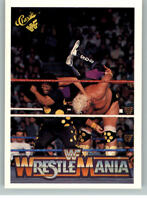 1990 Classic WWF WWE History of Wrestlemania #126 Dusty Rhodes