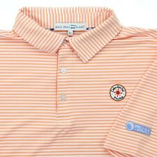 "Bald Head Blues Men XL 48"" Cabo Del Sol Pro Am Golf Polo Shirt Orange White"