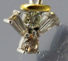 REIF-DESIGN - TOP DIAMANT ANHÄNGER ENGEL - AUS EIGENER GOLDSCHMIEDE - 585 GOLD