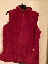 The North Face Vest Ted  Plush Vest Women's  Full Zip Xl