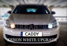 VW Caddy LED Xenon Bianco Luminoso CREE DRL Di Marcia Diurna Lampadine 12SMD