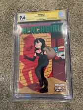 HENCHGIRL #1 SS CGC 9.6 Scout Comics Kristen Grudsnuk Signed & Sketch - TV Show