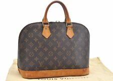 Authentic Louis Vuitton Monogram Alma Hand Bag M51130 LV 66641