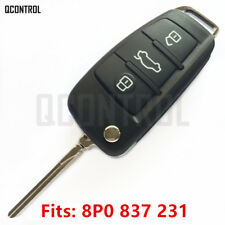 Car Remote Key fob for AUDI A3 S3 HELLA 434MHZ 8P0837231 2003 -2006 5FA008750-10